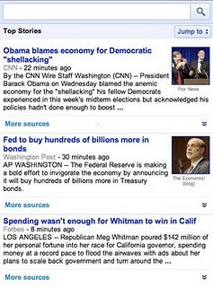 Google News by default - Google News for mobile gets an update