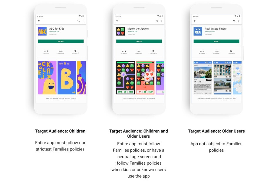 Google ramps up efforts to make the Play Store a safe and positive place for kids and families