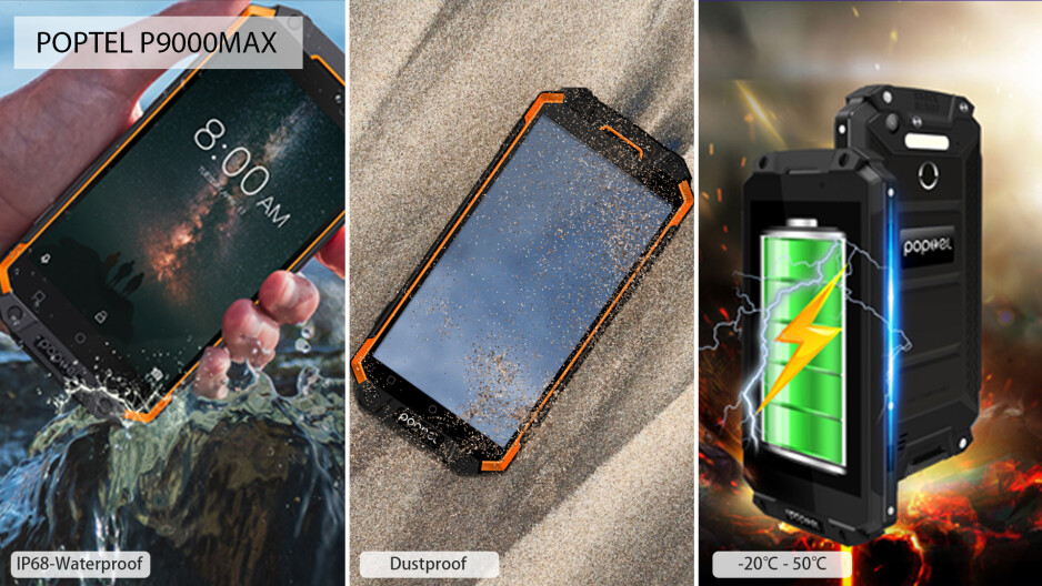 Poptel's industry-tailored line of rugged Androids stars in an Amazon sales event