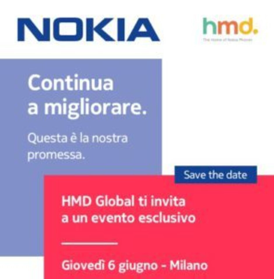 A big Nokia phone announcement is happening on June 6th