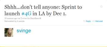 Good news for Sprint customers in Los Angeles waiting for 4G service