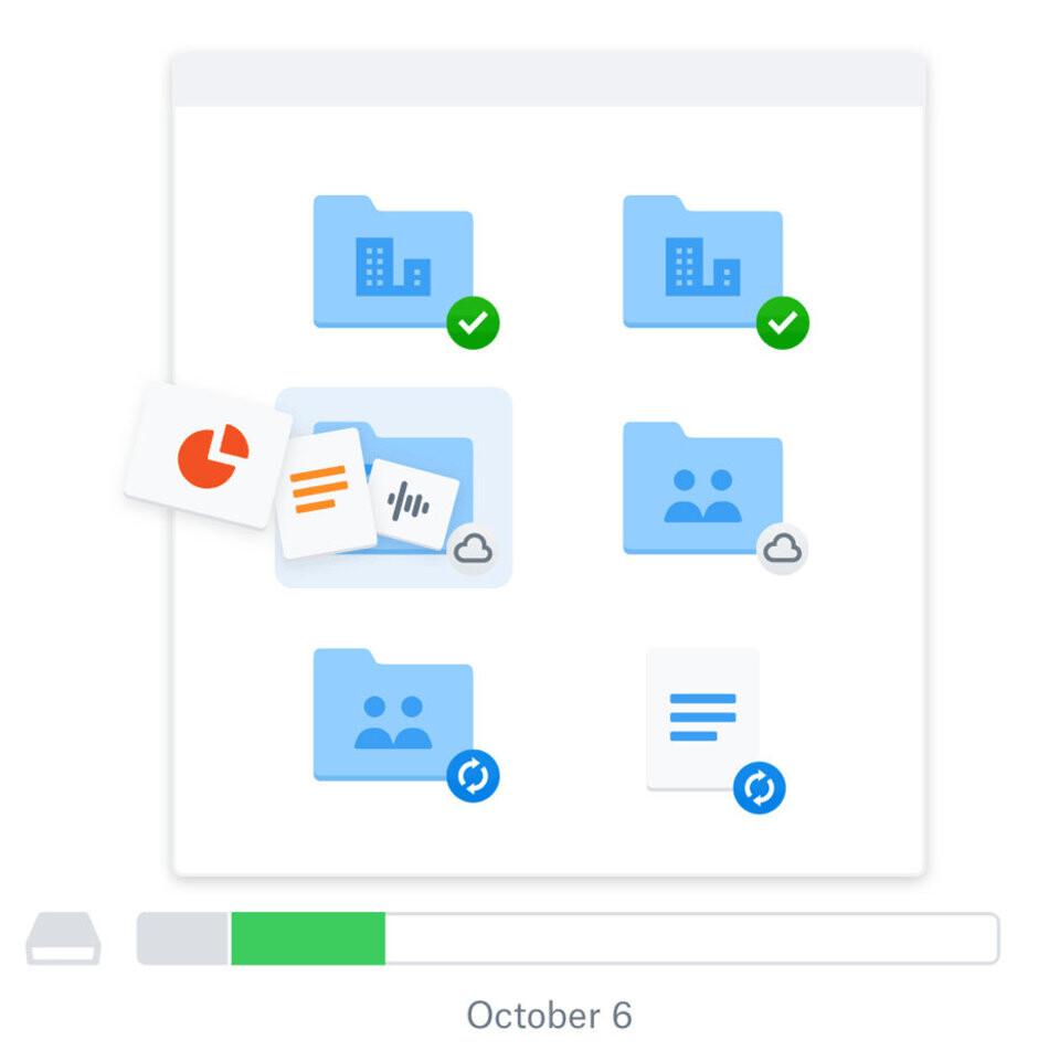 Dropbox Smart Sync - Dropbox announces new premium features, increases subscription prices