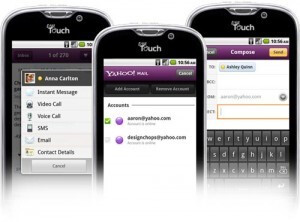 The upgraqde to Yahoo! Messenger will allow video calls over Wi-Fi to certain devices like the T-Mobile myTouch 4G - Yahoo! updates Mail and Messenger for Android