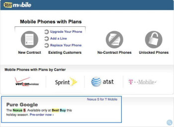 Google Nexus S briefly appeared on Best Buy's web site