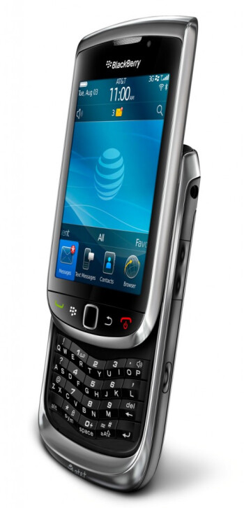 Is the SureType keyboard on this entry level slider for real, or is it a photoshopped picture of the BlackBerry Torch 9800