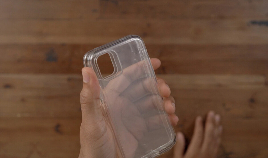 """Prototype iPhone 11 case with cutout for the camera module - Prototype cases for the 2019 Apple iPhone lineup might """"confirm"""" your worst fears"""