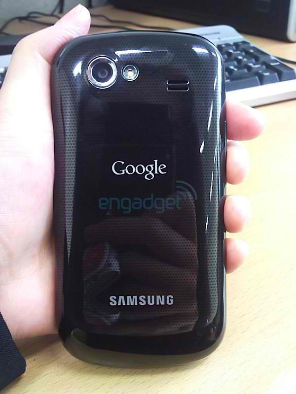 Is this the Nexus S in the flesh? - Nexus S is captured in the flesh on film?