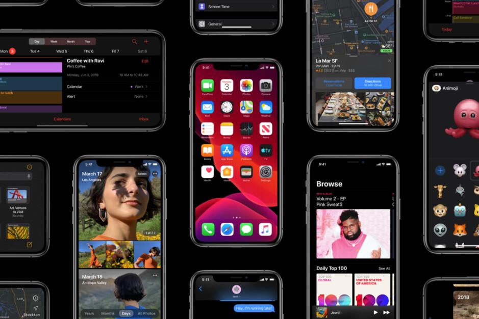 iOS 13, Dark Mode ENABLED - iOS 13 Dark Mode: all the details
