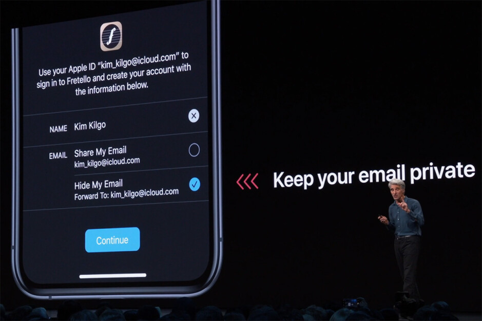 For third-party apps that use social login, Sign In with Apple will be mandatory, not optional