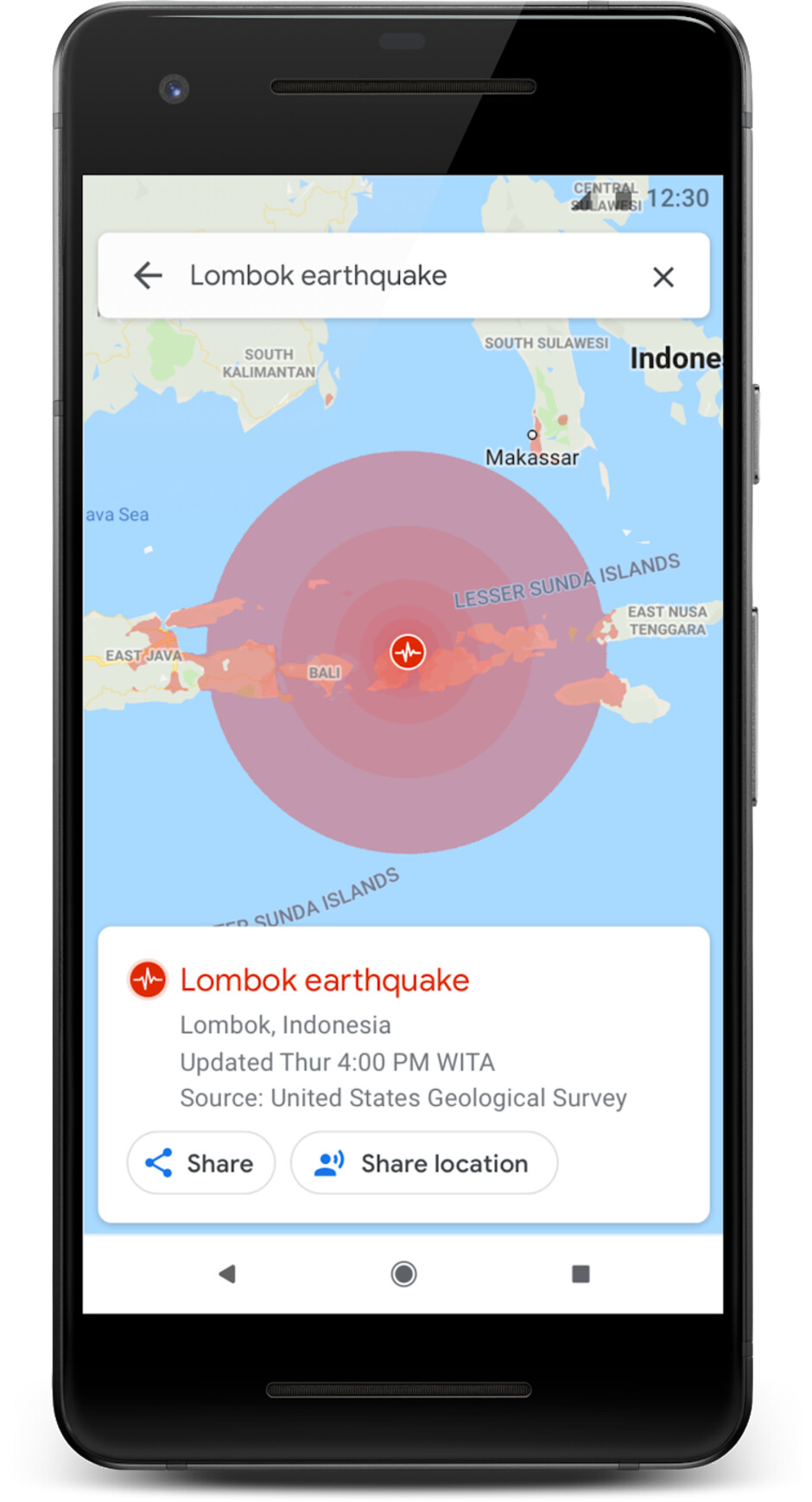 Earthquake, flood, and hurricane maps - Google Maps is getting new features that could potentially save thousands of lives