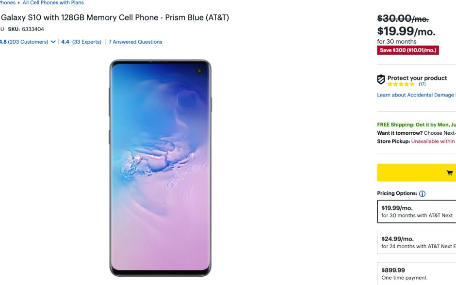Best Buy offers mind-blowing Galaxy S10 series and Note 9 savings with installments