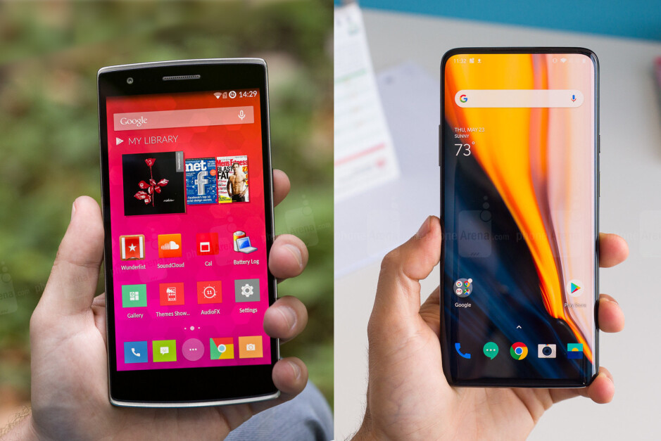 OnePlus One and OnePlus 7 Pro, 5 years apart - LG should learn a thing or two from OnePlus' success
