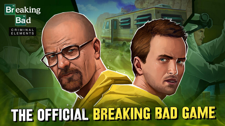 Are you the one who knocks? - Don't be blue; Breaking Bad: Criminal Elements is now available on iOS and Android