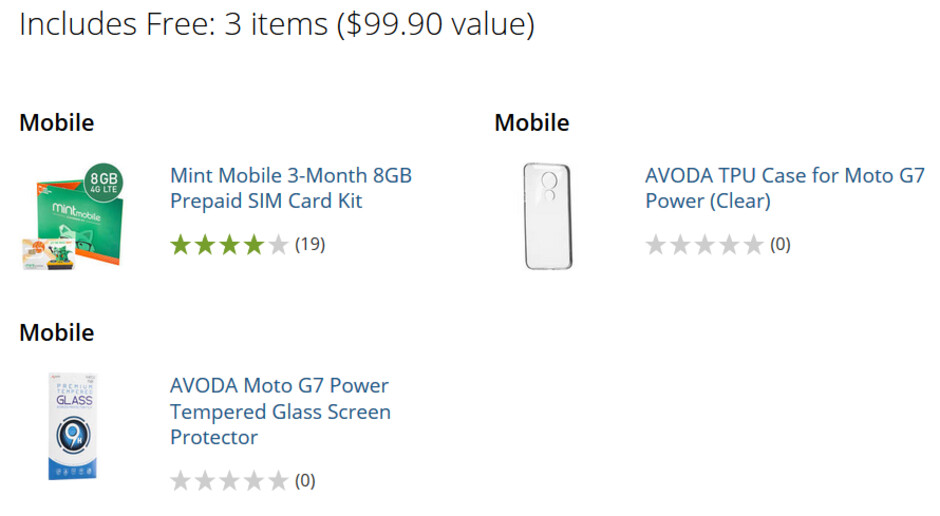 B&H throws in $99.90 worth of extras with the purchase of a Moto G7 Power - The big battery 32GB unlocked Moto G7 Power is on sale for $230 at B&H and Amazon