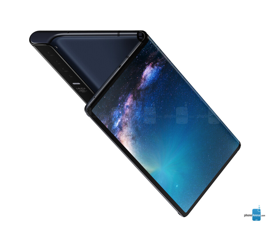 The Huawei Mate X - Huawei executive shares video of the foldable Mate X hitting a 5G dataspeed benchmark