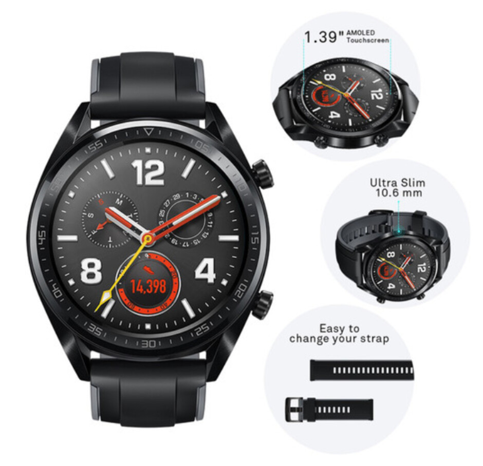 Huawei Watch GT - Huawei Watch GT and GT Classic are on sale in the states