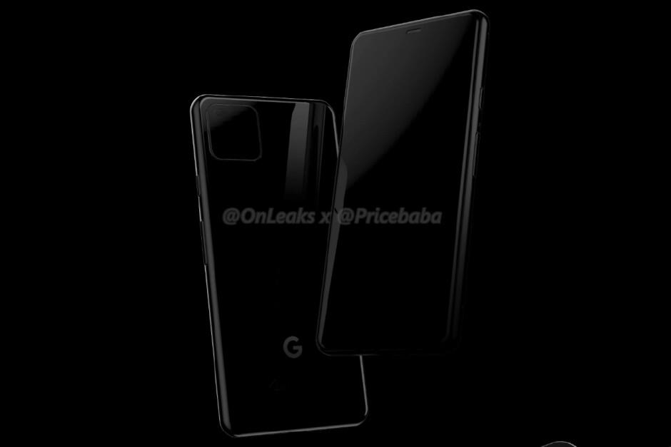 Google Pixel 4 renders leak showing iPhone 11-like design