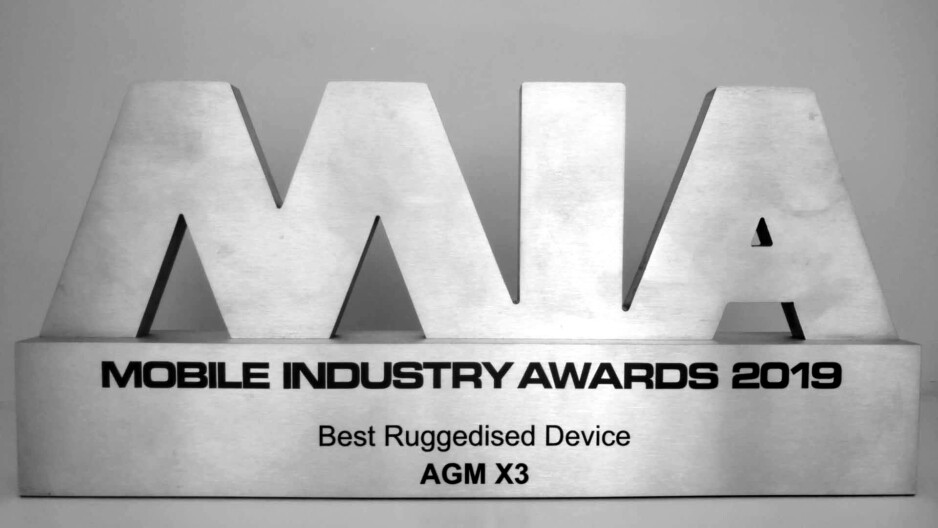 Rugged and pretty, the AGM X3 scores a Mobile Industry Awards statuette