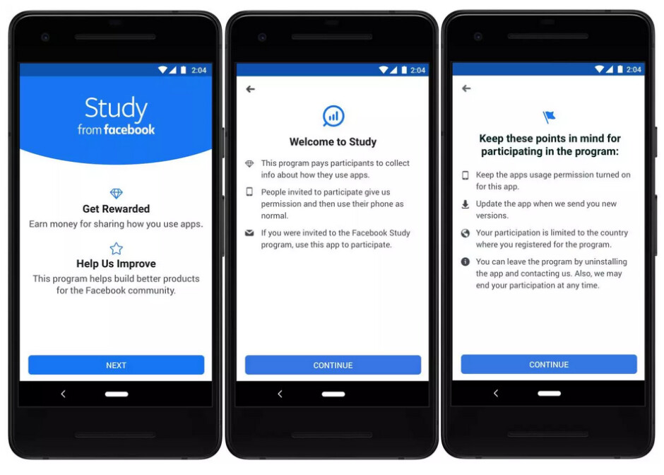 Earn money by sharing with Facebook how you use apps - Facebook's Study program pays for information about the apps you use