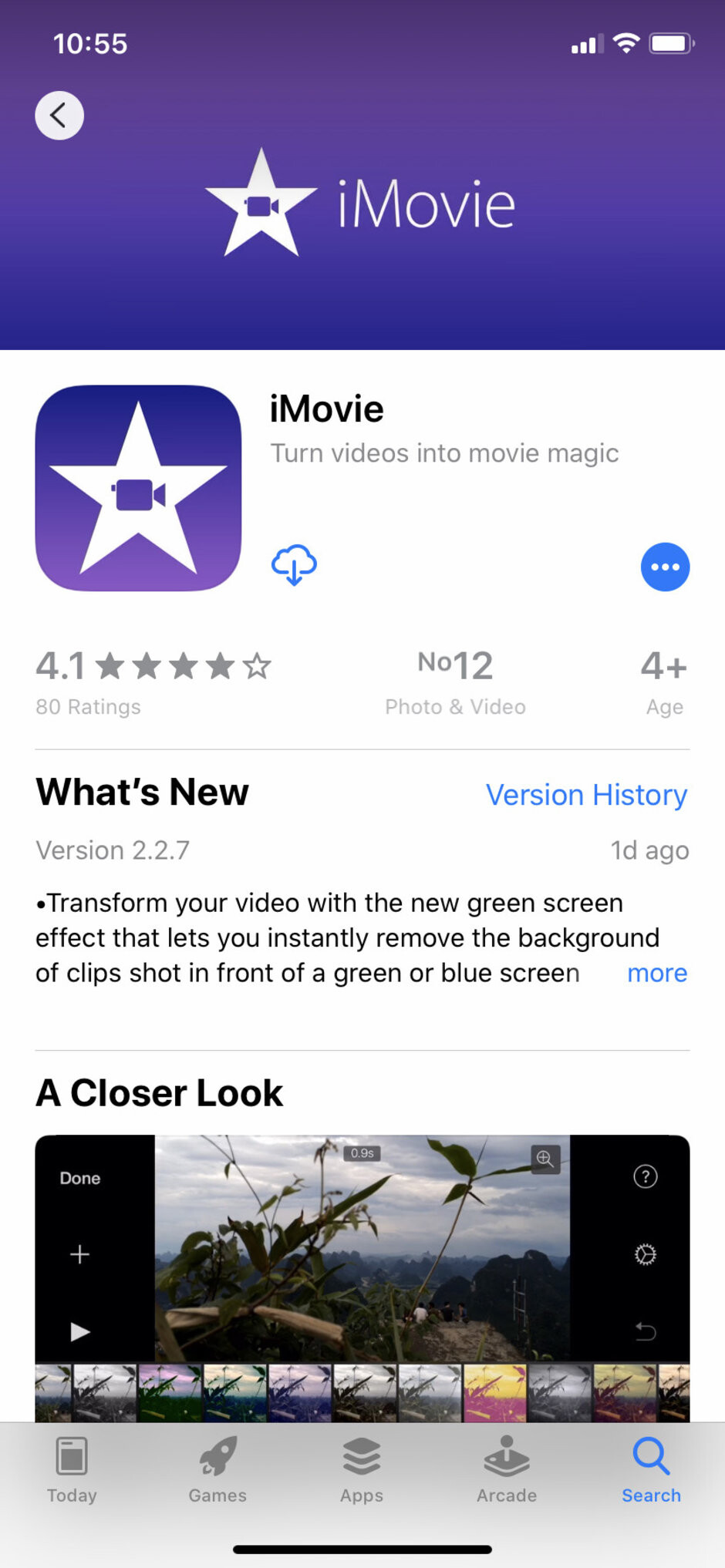 iMovie for iOS now has a green screen feature