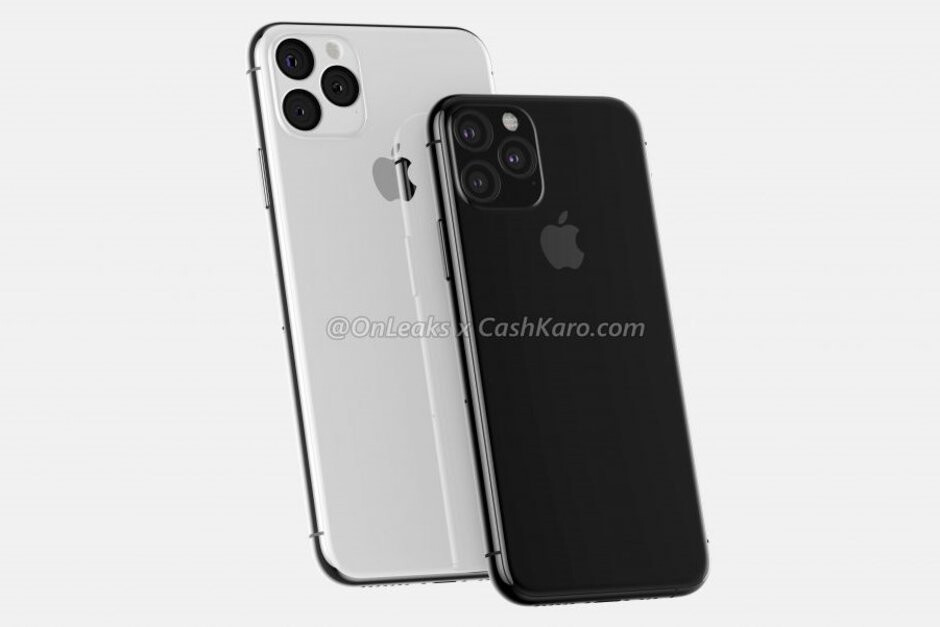 iPhone 11 and 11 Max CAD-based renders - Apple iPhone 11 may add night mode feature to rival Google's Night Sight