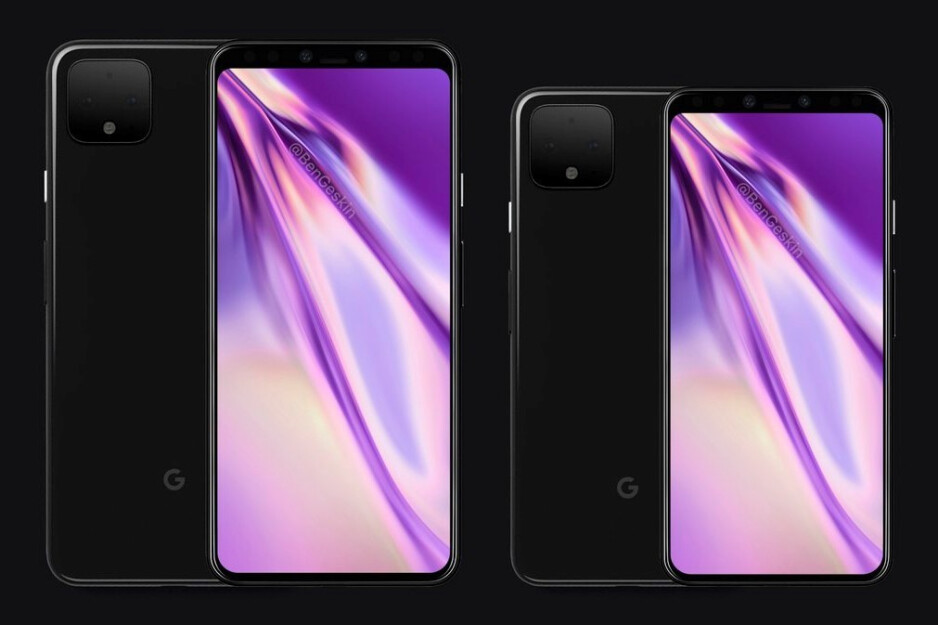 Google Pixel 4 concept render courtesy of Ben Geskin - These Pixel 4 renders give us our best look yet at Google's next flagship