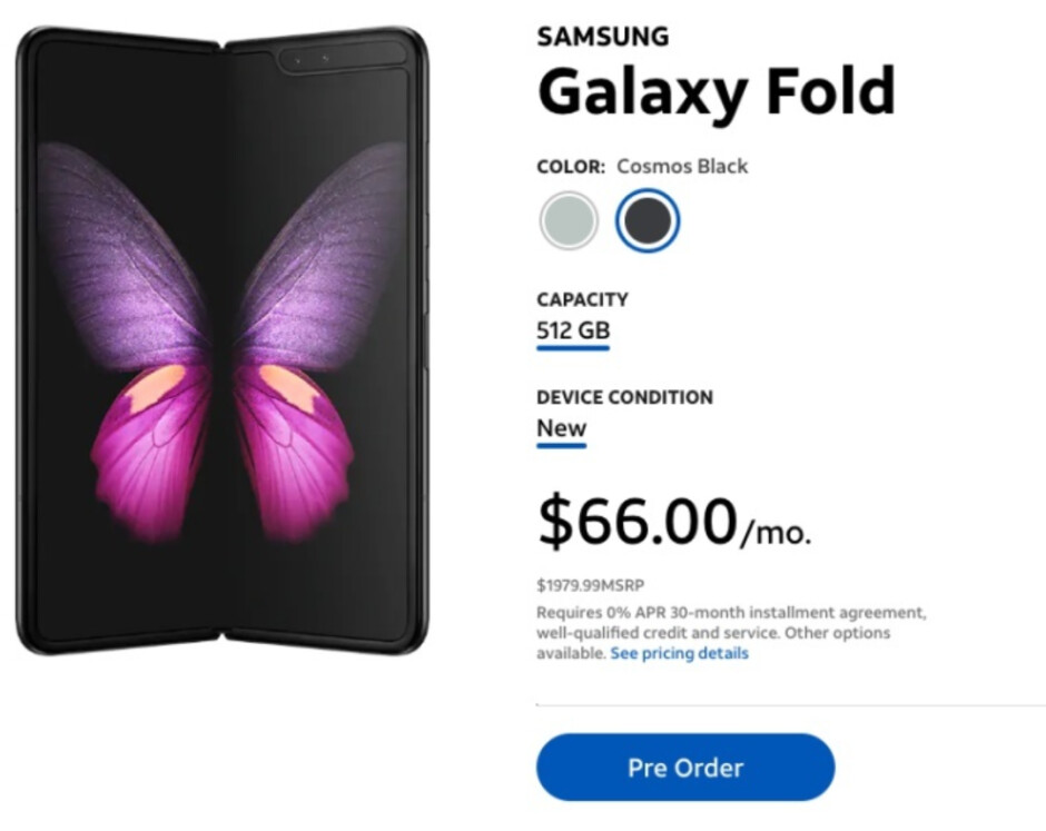 AT&T started taking pre-orders for the Samsung Galaxy Fold on April 15th - AT&T cancels its Samsung Galaxy Fold pre-orders; customers involved get a $100 promo card