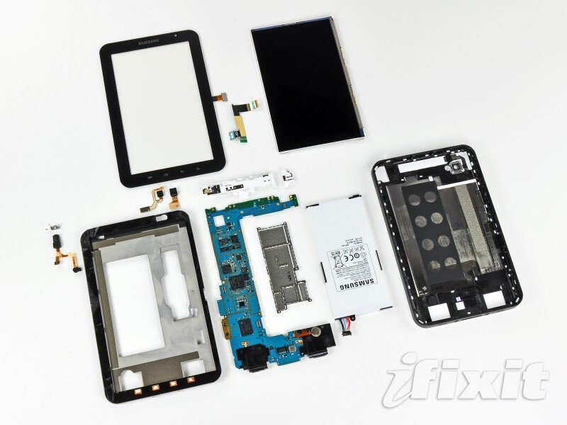 Galaxy Tab Dissected - Tearing down the Galaxy Tab