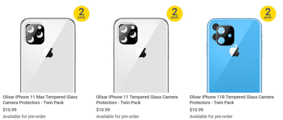 The 2019 Apple iPhone camera protectors are now available for pre-order at MobileFun - You might not be happy when you see this accessory for the 2019 Apple iPhone models (VIDEO)