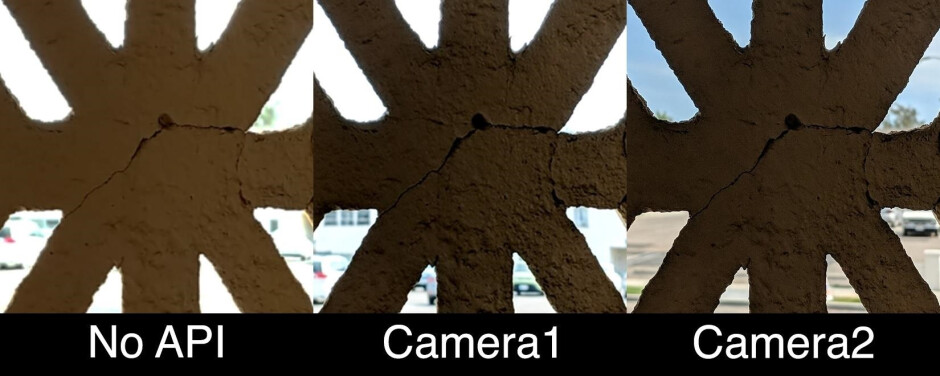 No camera APIs vs Google Camera1 and Camera2. Image courtesy of Gadget Hacks - What do you lose when your Android phone is not supported by Google? A lot...