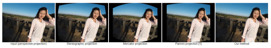 Google's new wide-angle distortion correction method compared to others - Here's how Google fixes your discombobulated face in wide-angle Pixel shots