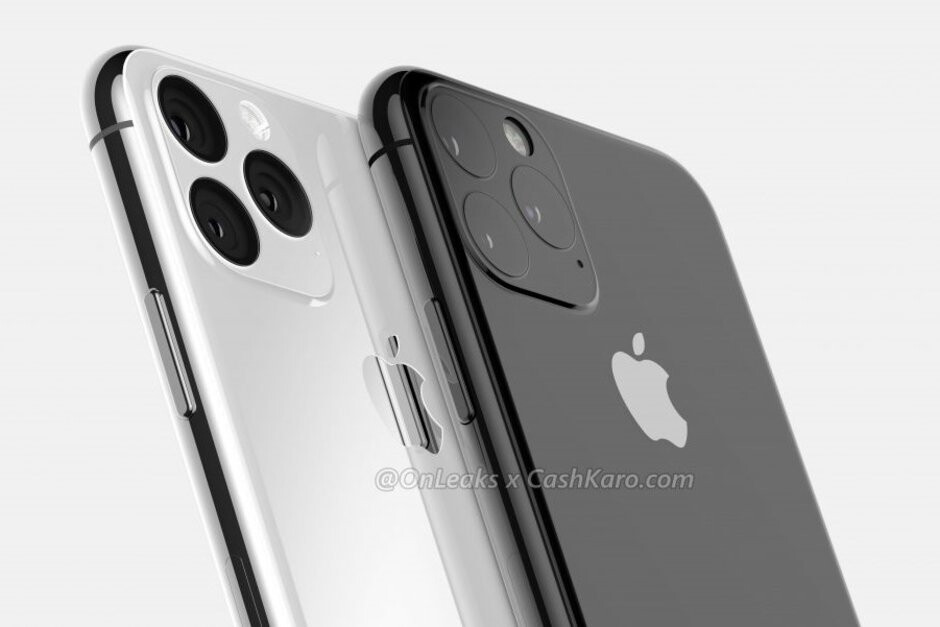 iPhone 11 & iPhone 11 Max CAD-based render - 2020 iPhones: OLED displays, different sizes, 5G support on two models