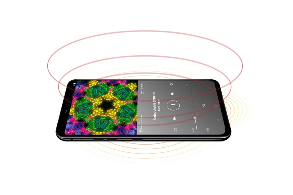 The LG G8 ThinQ sports Crystal Sound OLED Speaker technology - Samsung's Galaxy Note 10 is expected to come with radical new camera and sound technologies