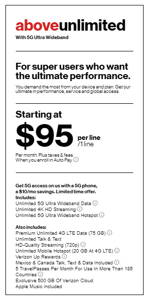 Verizon, AT&T and T-Mobile's plan prices are globally high