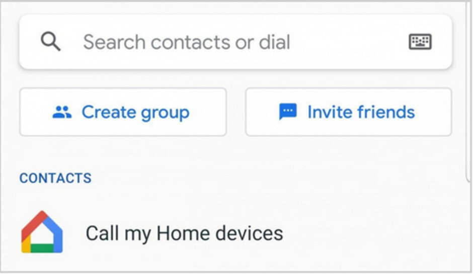 Duo users will soon be able to call their Home and Nest devices through the app's contacts list - A pair of useful features are heading to Google Duo