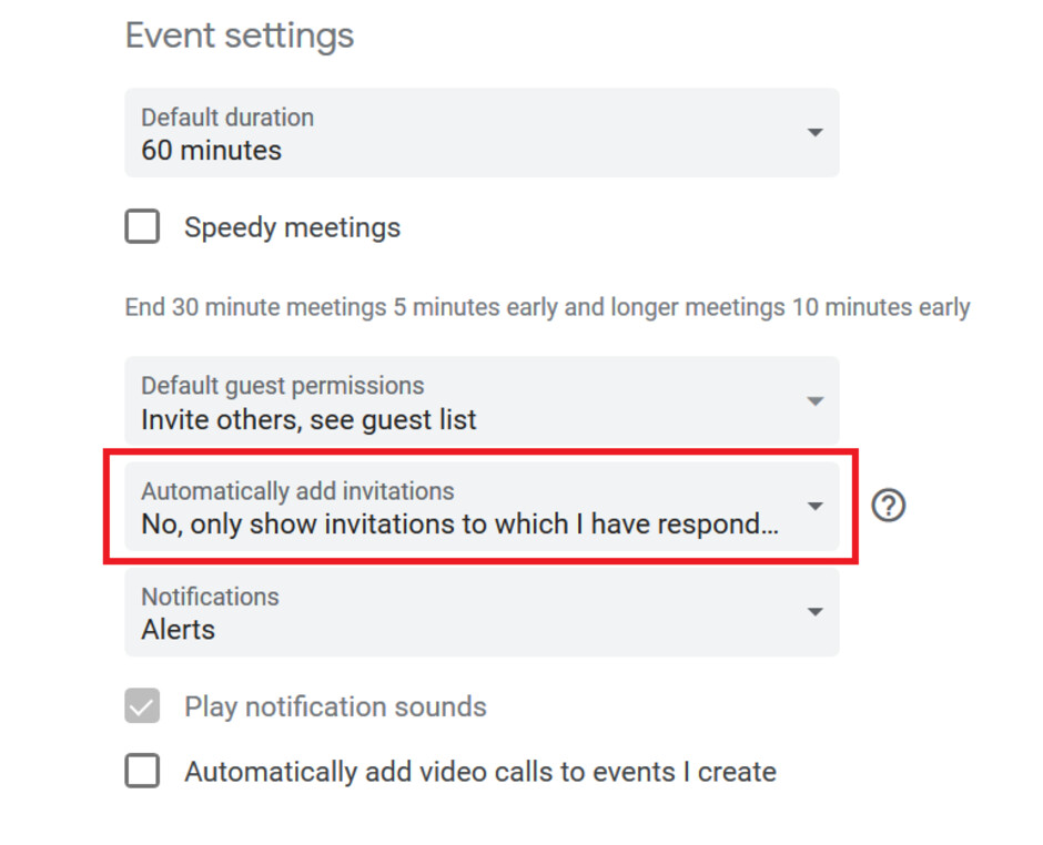 Changing this setting will prevent scammers from accessing your Google Calendar account - Even the Google Calendar app is being used by scammers to drain your bank account