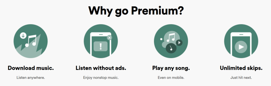 Spotify's premium service offers more features than its ad-supported tier - Apple fights back against Spotify claiming the music streamer's data is out of tune