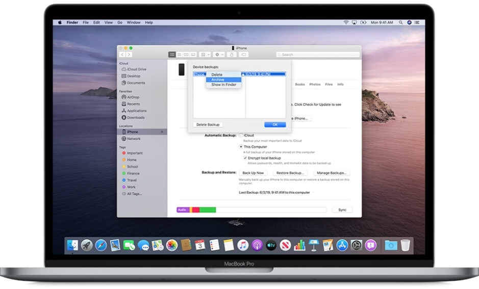 On macOS, pick your iOS device from Locations in the Finder sidebar - How to download and install iOS 14 and iPadOS 14 beta, from iPhone 6s to iPad Pro 2020