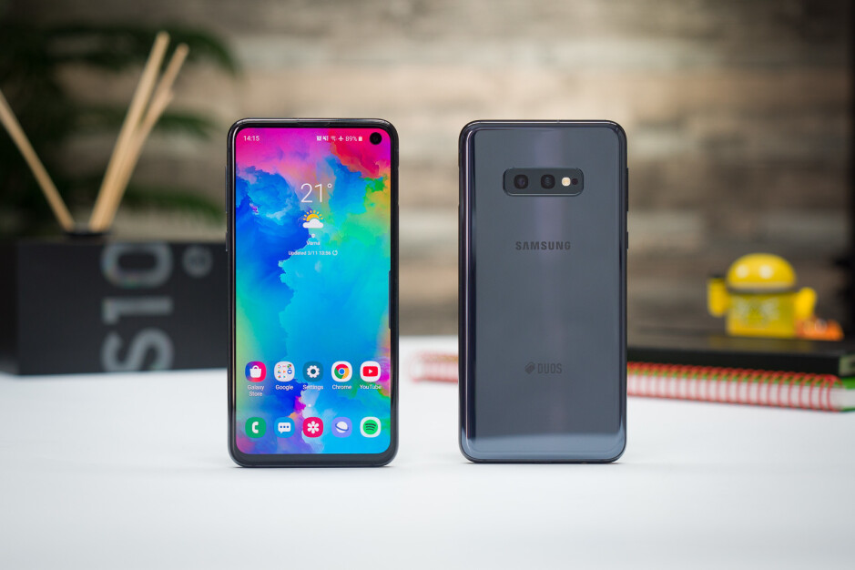 The Galaxy S10e is Samsung's cheapest flagship at the moment - Samsung has two budget flagships on the way, one with 5G support