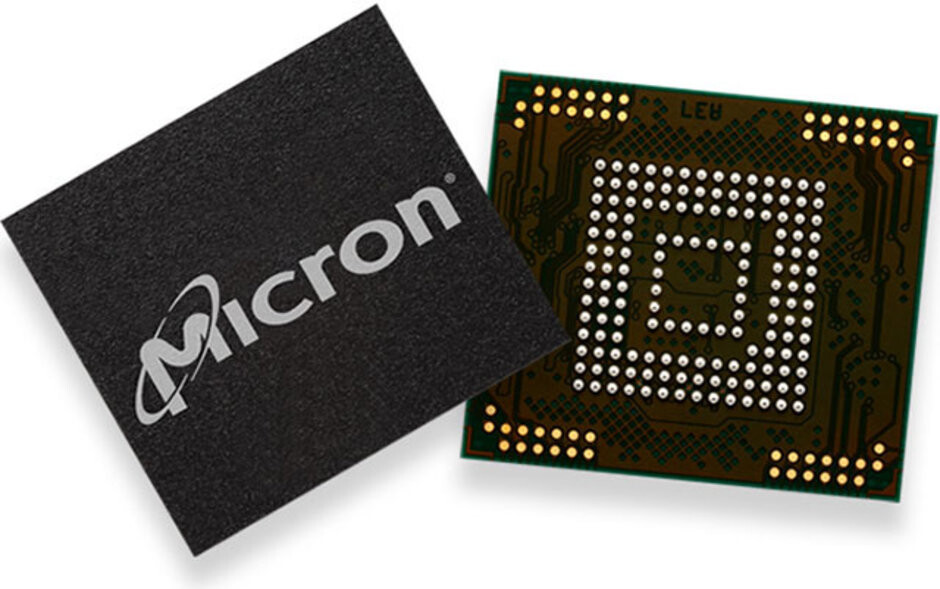 Micron's 3D NAND flash chip for smartphones - Despite the ban, one U.S. chip maker has resumed shipping some components to Huawei
