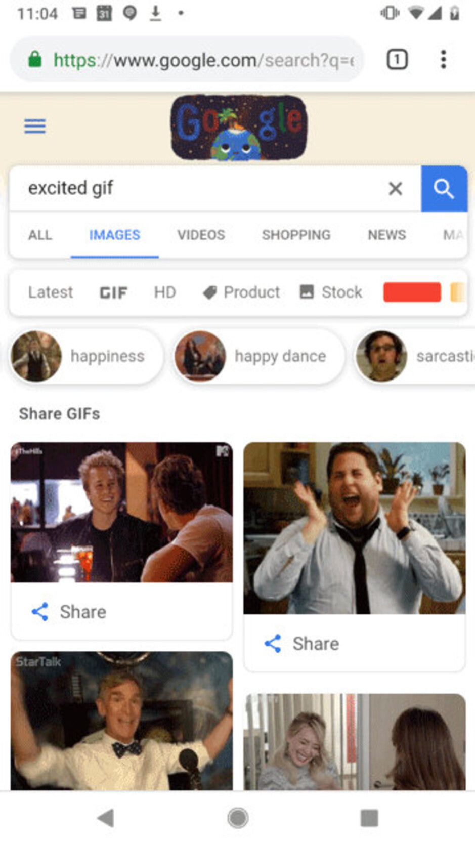 Google lets users share GIFs directly into Gmail, WhatsApp, other apps