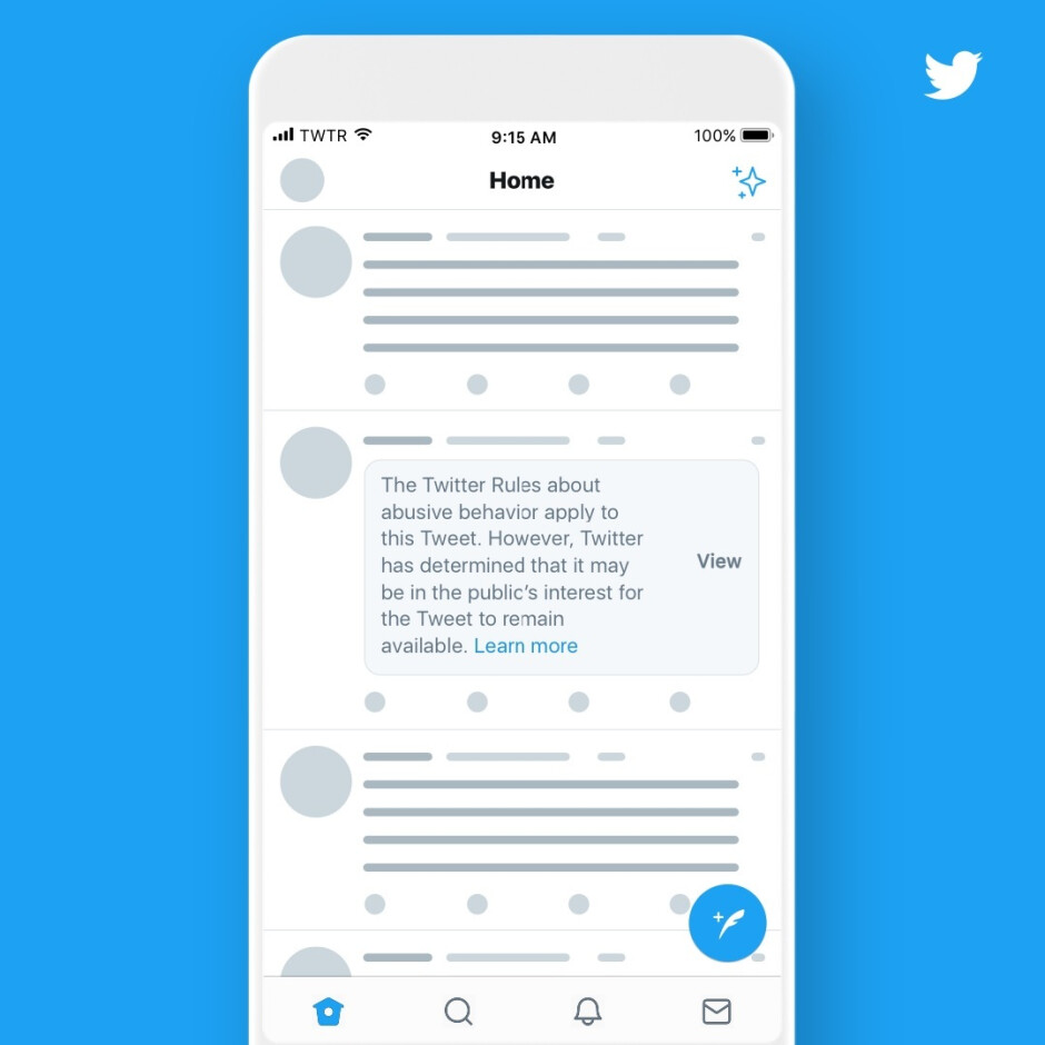 Twitter will now label and hide tweets from government officials that would normally violate its rules - Twitter's new policy is aimed squarely at Donald Trump