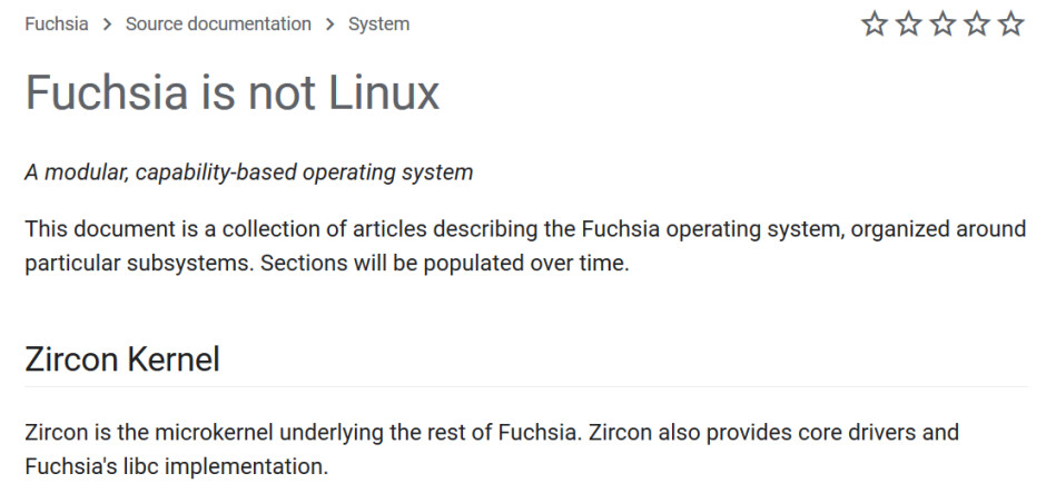 Fuchsia OS doesn't use the Linux kernel - Google's potential Android replacement, Fuchsia, now has a developer site