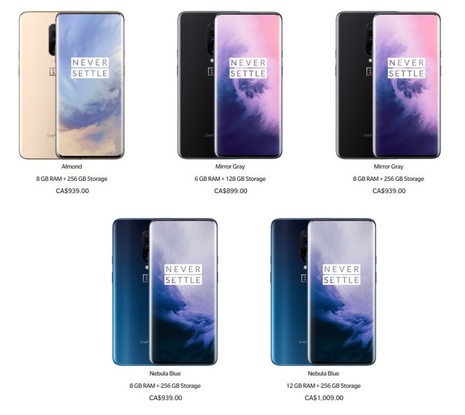 The OnePlus 7 Pro is getting a currency-related price cut in Canada - OnePlus 7 Pro gets a price cut of up to $110 in Canada