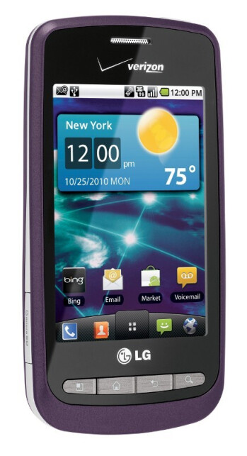 Verizon launches the LG Vortex and LG Cosmos Touch November 18th