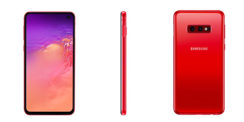 Red Galaxy S10e version goes official, but there's still no word on US release