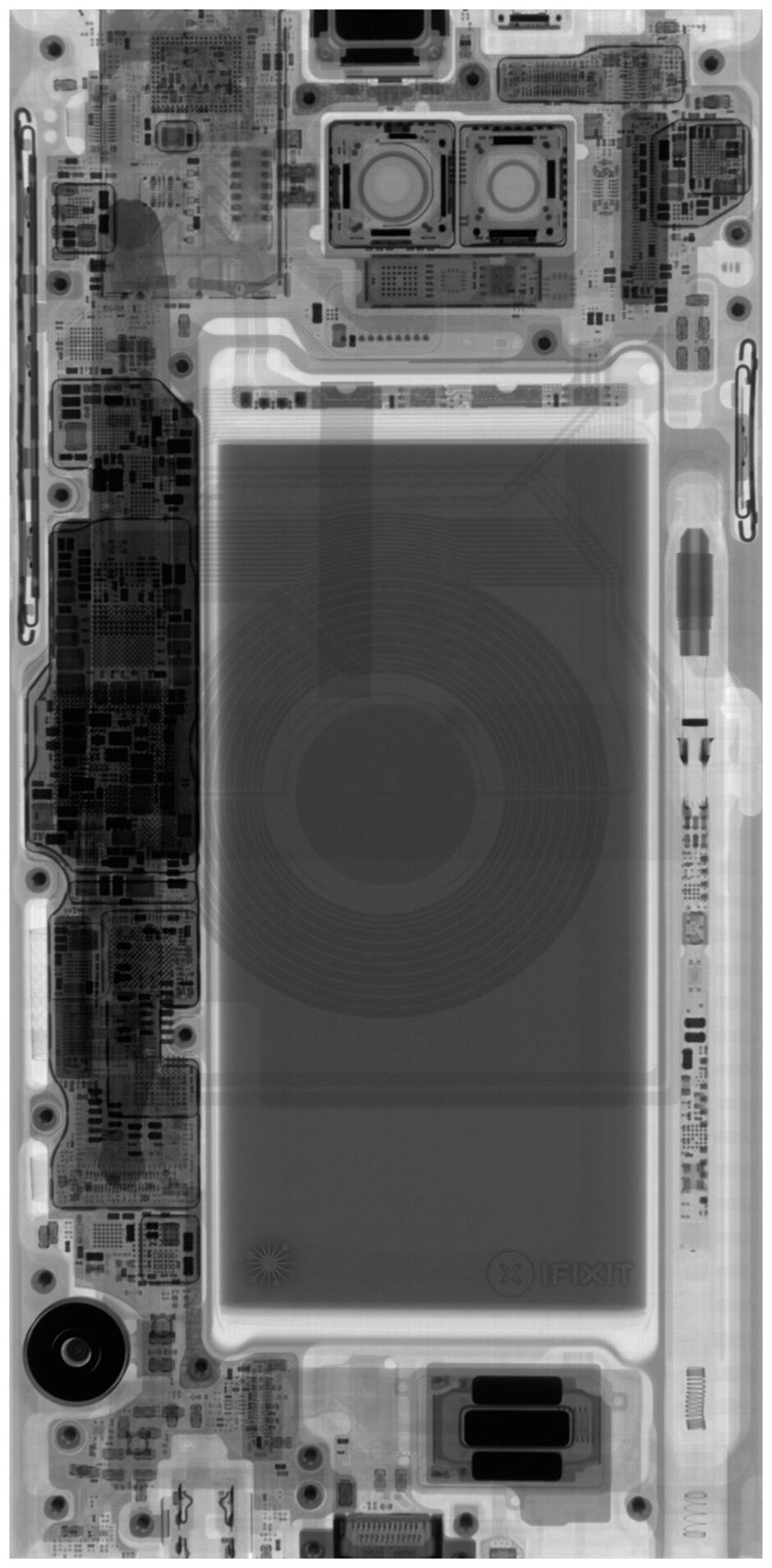 Galaxy Note 9 with S Pen, images courtesy of iFixit - Galaxy Note could have had 800mAh bigger battery and better cameras had Samsung removed the S Pen