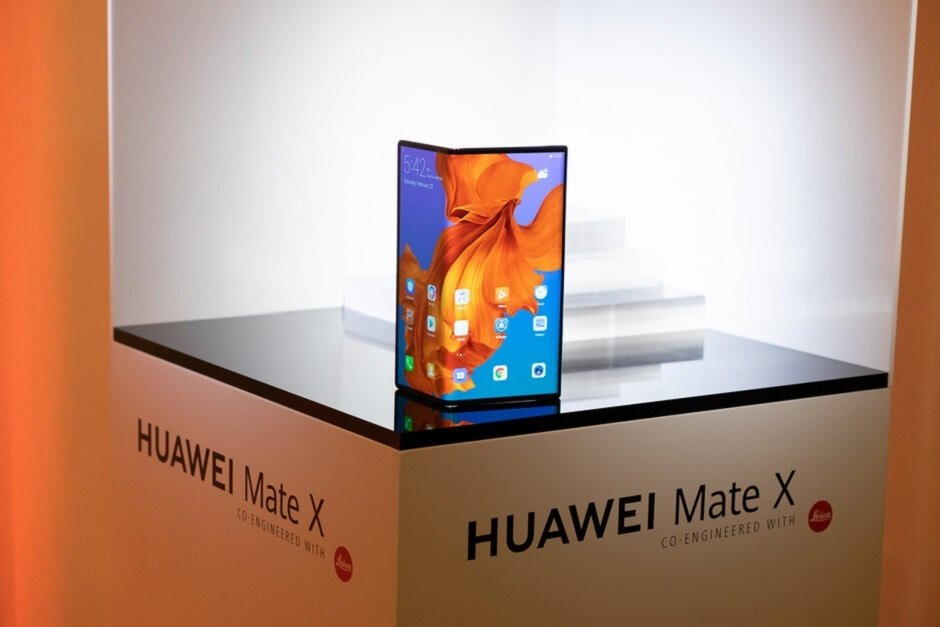 The Huawei Mate X will reportedly be released in September - Samsung executive describes his feelings about the Galaxy Fold launch in one word