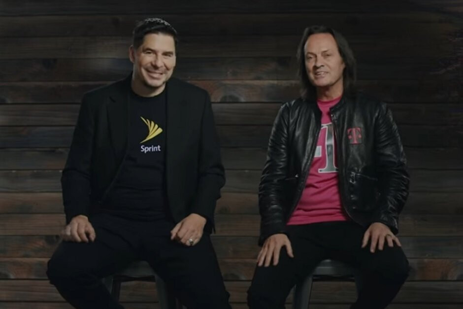 """CEOs Marcelo Claure and John Legere are getting closer to completing their long-awaited merger - DOJ and T-Mobile reportedly reach """"rough agreement"""" on merger with Sprint"""