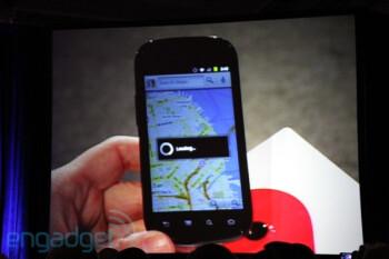 The just announced Google Nexus S